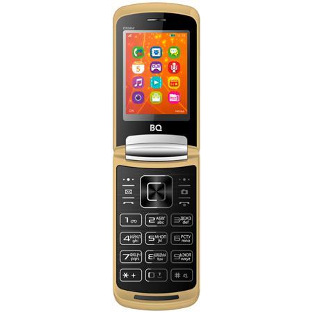 Купить Мобильный телефон BQ mobile BQ-2405 Dream Gold в интернет ... 205b7a9825e
