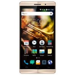 Смартфон Vertex Impress Jazz Black/Gold