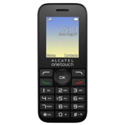 Мобильный телефон Alcatel OT1020D (2SIM) Volcano Black