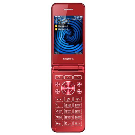 Мобильный телефон teXet TM-400 Pomegranate
