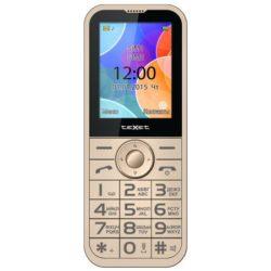 Мобильный телефон teXet TM-B330 бежевый