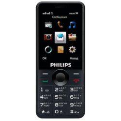 Мобильный телефон Philips Xenium E168 Black
